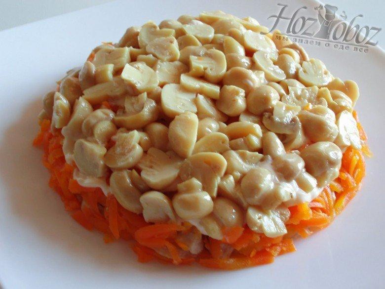 Салат с картофельными чипсами рецепт с