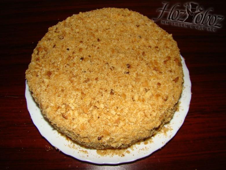 Торт медовик со сметанным кремом с пошаговым