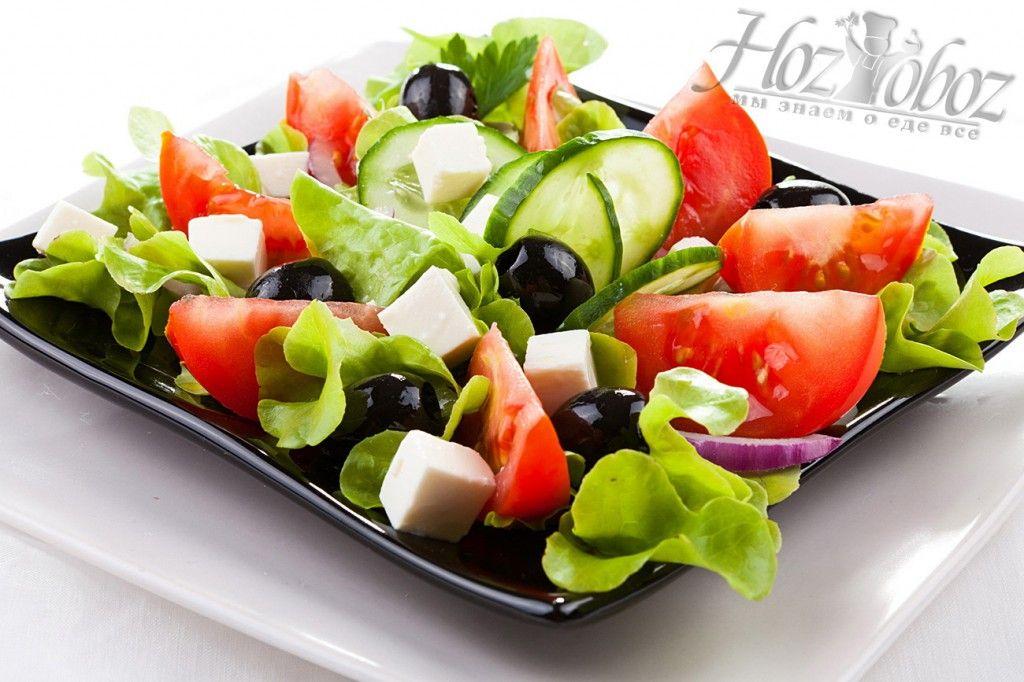 салат греческий рецепты с фото