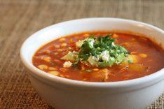 Рецепт пряного супа с болгарским пецем