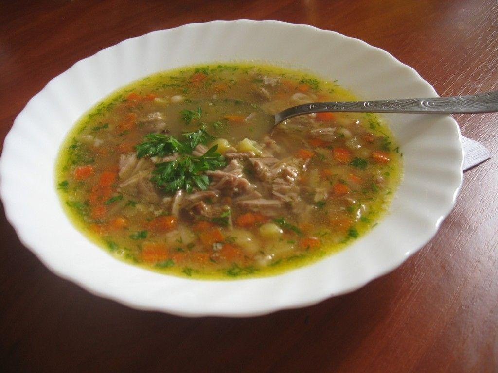 Фасолевый суп готов :)