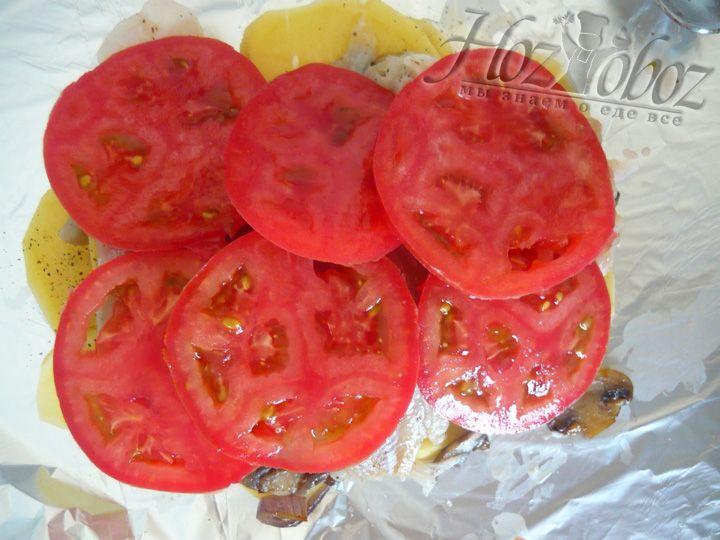 Теперь очередь томатов