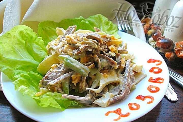 восточная кухня рецепты салат из языка