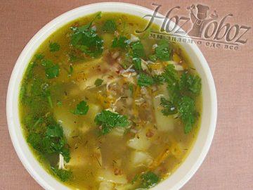 Самый вкусный суп гречневый