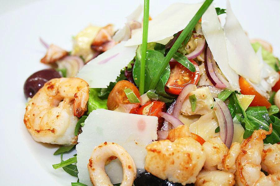 Тарталетки с морепродуктами рецепт