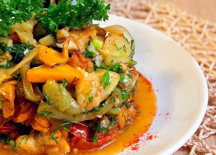 Соте с курицей из овощей рецепт