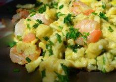 Омлет с морепродуктами рецепт