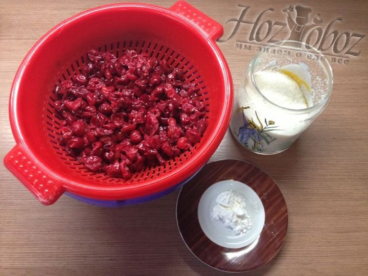 Подготовим продукты для начинки пирога