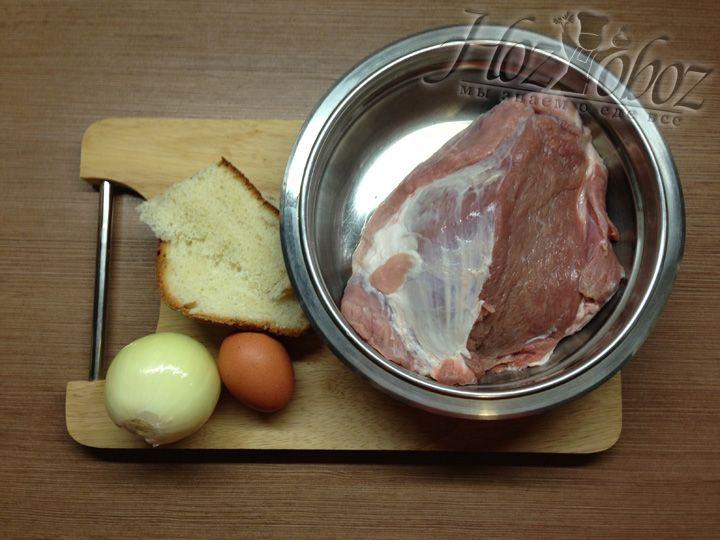 Необходимые продукты для приготовления бифштекса