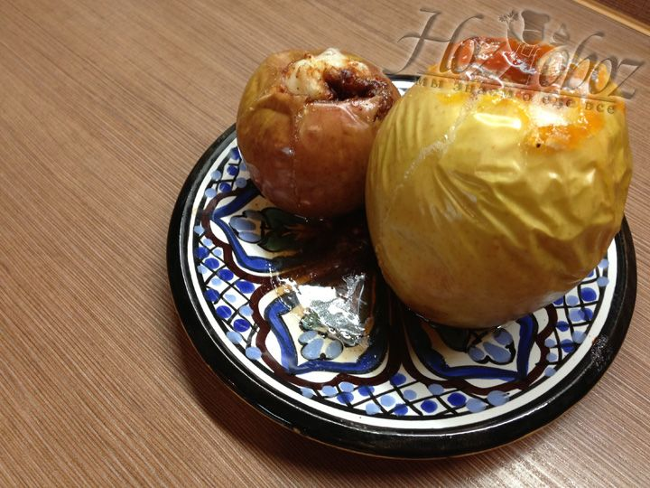 Яблоки должны получиться мягкими, вкусными и душистыми