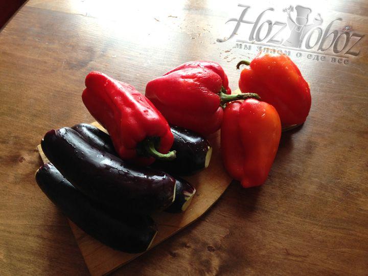Готовим овощи для запекания