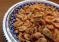Жареные креветки рецепт с фото