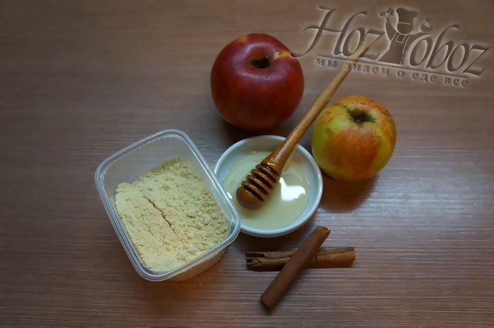 Печеные яблоки с медом и корицей в микроволновке, ХозОбоз - мы знаем о еде все