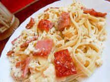 Как приготовить итальянскую пасту под сырно-сливочным соусом