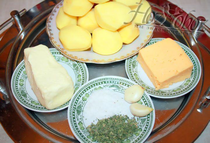 Ингредиенты для картофельных шариков
