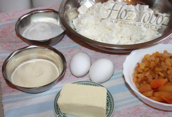 Подготовьте все продукты, необходимые для приготовления пудинга