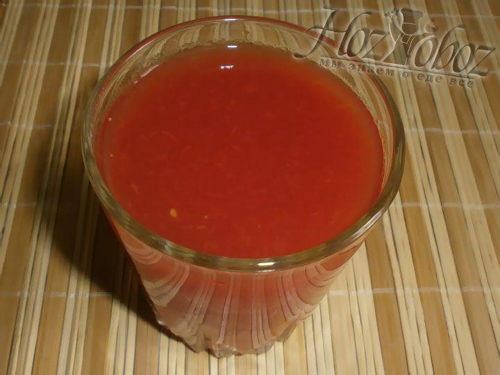 В качестве альтернативы можно взять стакан томатного сока