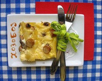 Запеканка из макарон и сыра
