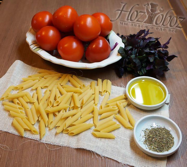 Вначале заготовим предусмотренные рецептом продукты
