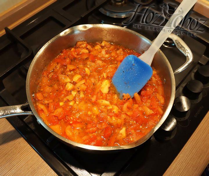 Теперь все составляющие соуса хорошенько перемешиваем