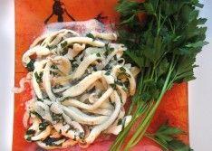 Кальмары в сметанном соусе рецепт с фото