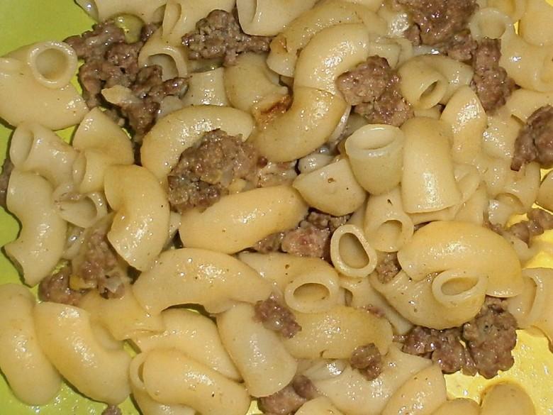 Макароны с мясом как приготовить быстро и вкусно