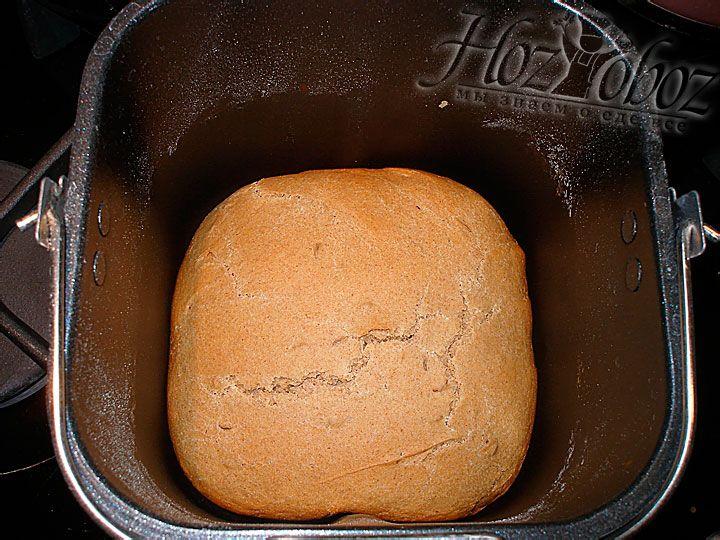 Печется такой хлеб около 3 часов