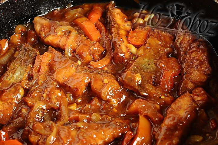 В соусе рыбе нужно полежать не менее 30 минут