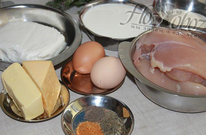 Вначале подготовим ингредиенты