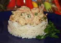Креветки в сливочном соусе — оригинальный рецепт