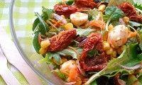 Итальянский салат с вялеными помидорами — фото рецепт