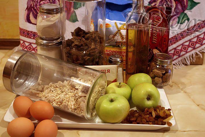 Подготовим все продукты необходимые для приготовления блюда