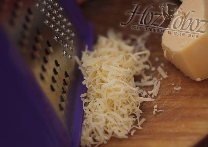 Натрем на терке любой сыр твердый сортов