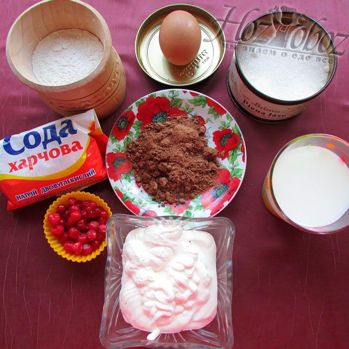 Для начала готовим нужные нам ингредиенты