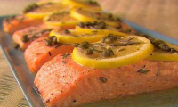 Recipe baked salmon