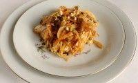 Салат из пекинской капусты и проростков фасоли маш