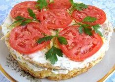 Кабачковый торт с сыром, рецепт с фото