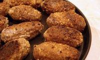 Рыбные котлеты под ореховым соусом