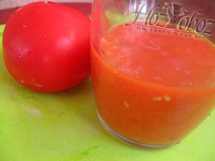 Пюрируем томаты