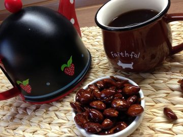 Орехи в карамели