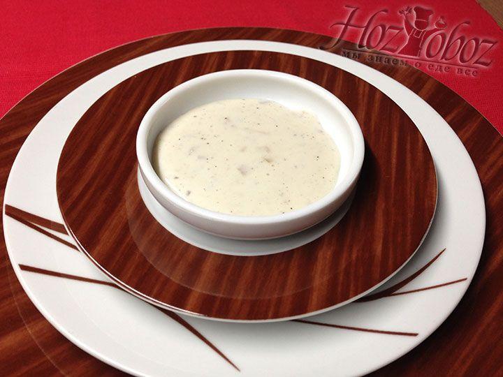 Наш соус готов - теперь Вы вольны использовать его на свое усмотрение для разных блюд и целей