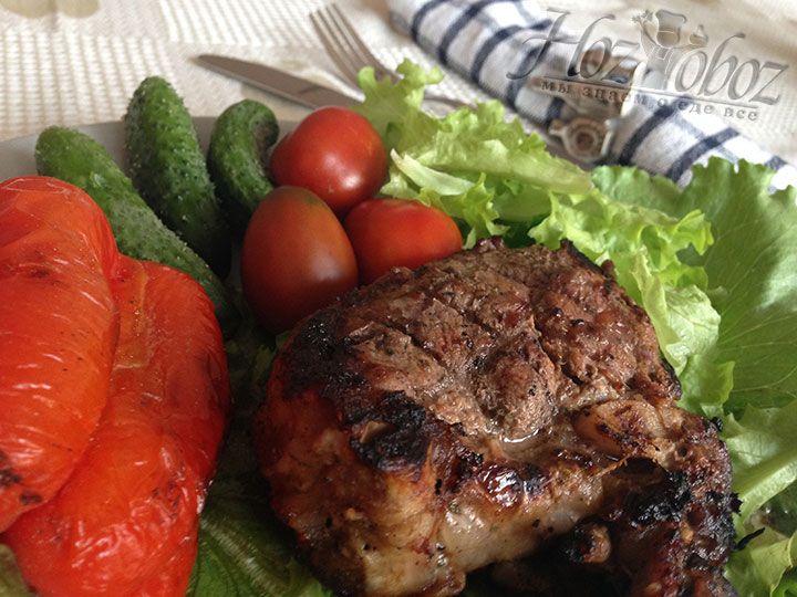 Отличным дополнением к баранине на гриле станут овощи, причем как в свежем так и в печеном виде. Приятного всем аппетита!