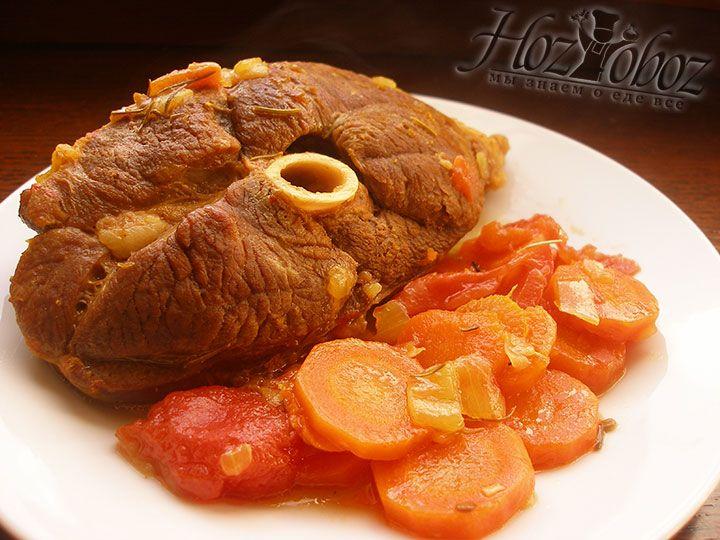 В качестве гарнира к этому сытному и аппетитному блюду прекрасно подойдет кус-кус или полента
