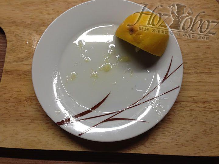 Добавляем в суп сок 1/4 лимона