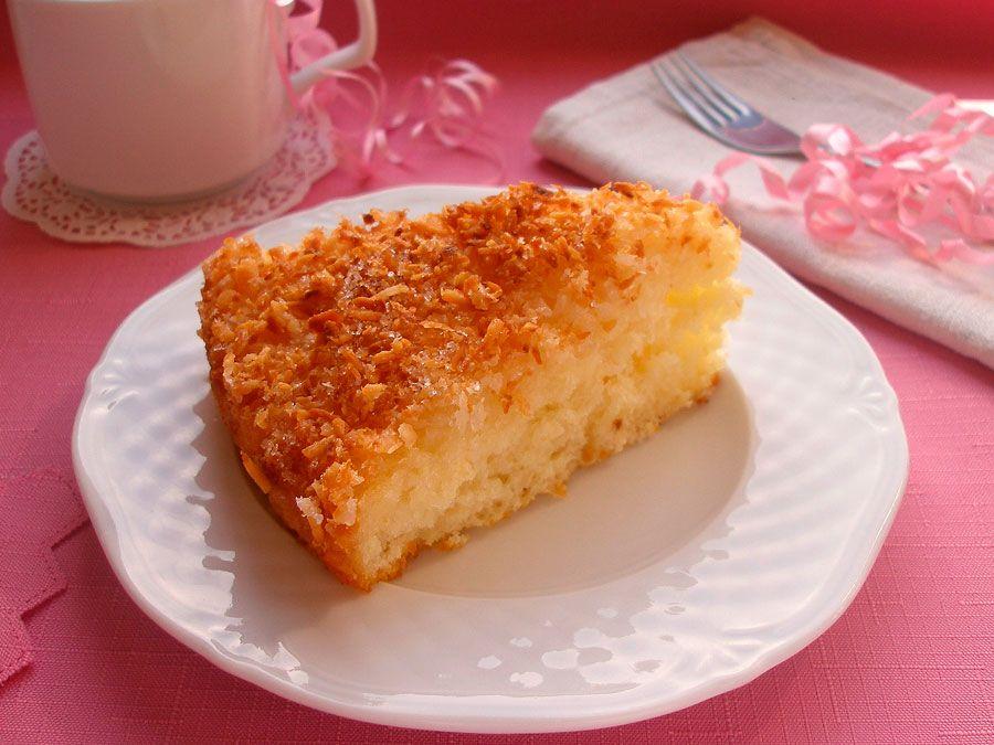 Изумительный кокосовый пирог рецепт