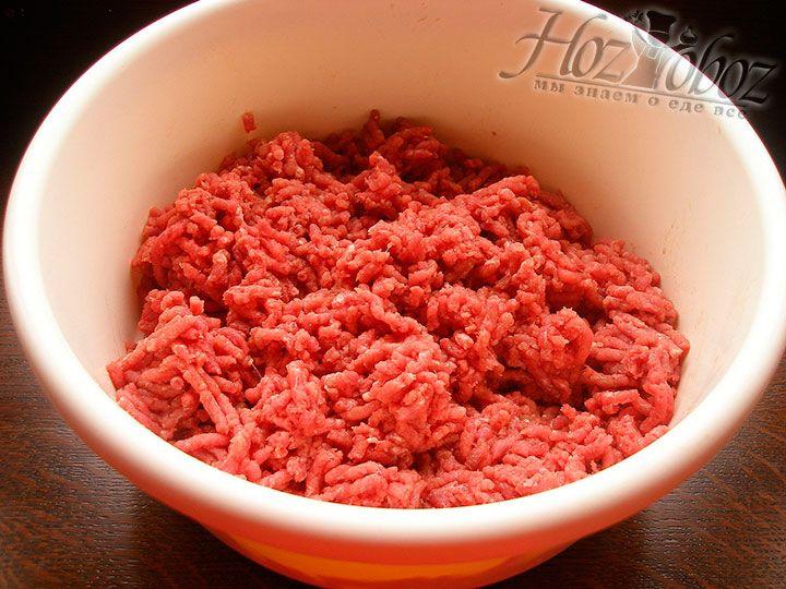 Готовим мясной фарш для лазаньи