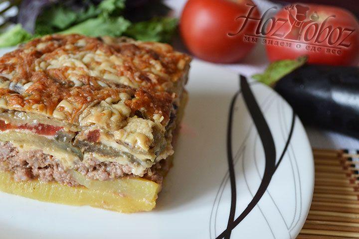 Подавать блюдо к столу можно теплым и холодным, но сами греки все таки предпочитают употреблять ее как холодную закуску
