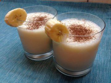 Молочно банановый коктейль