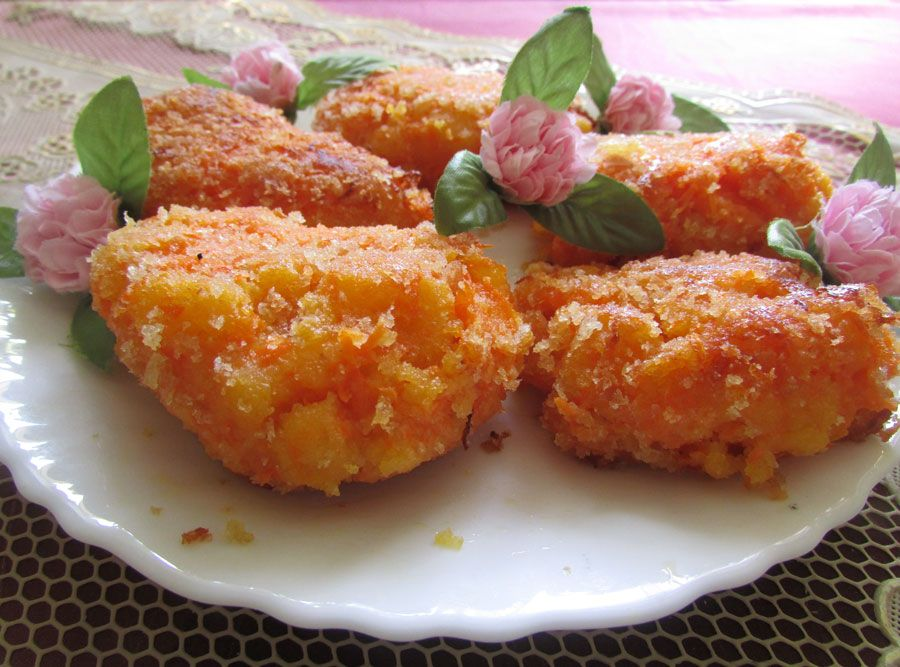 Котлеты морковью рецепт с фото пошагово