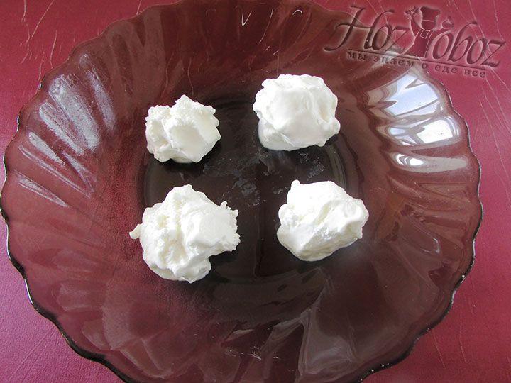 Делаем шарики мороженного